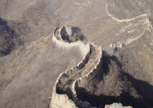 The Great Wall of China near Sancha